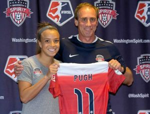 Women's World Football Show, Mallory Pugh, Jim Gabarra, NWSL