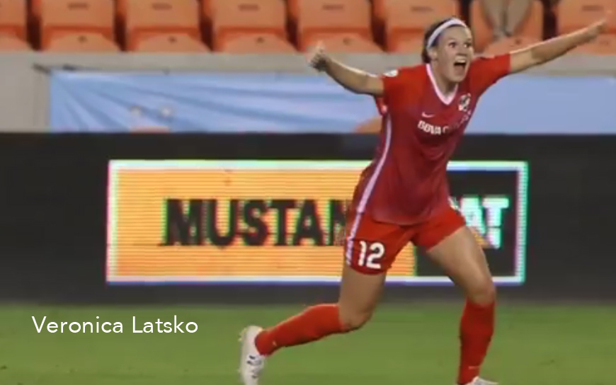 Veronica Latsko, Houston Dash, NWSL