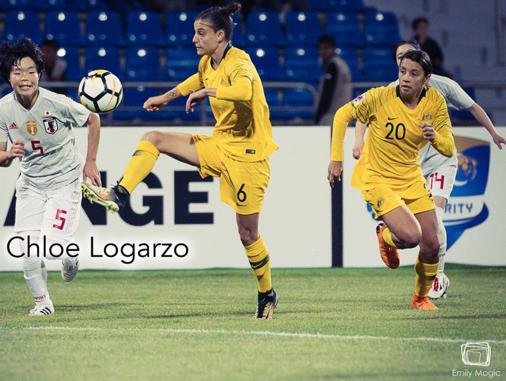 Chloe Logarzo, The Matildas, WWFShow, podcast, soccer