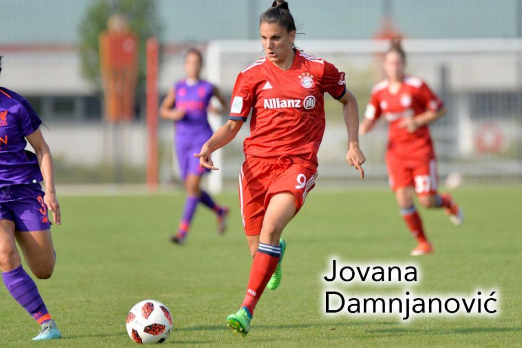 Jovana Damnjanović, womens soccer podcast