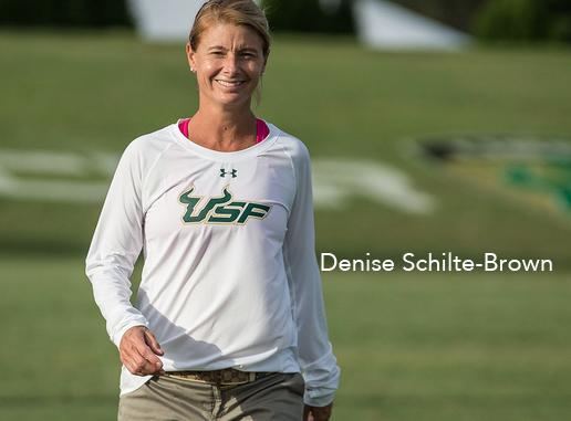 Denise Shilte-Brown, USF, NCAA, University of South Florida, women's soccer, women's world football show, soccer podcast