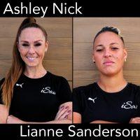 Ashley Nick, Lianne Sanderson, iSawSoccer, soccer podcast