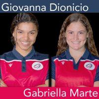 Dominican Republic U-20 Women's National Team defendersGiovanna Dionicio and Gabriella Marte