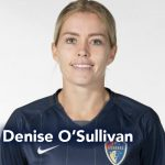 Denise O'Sullivan in North Carolina Courage shirt