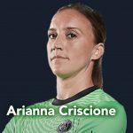 Paris Saint-Germaine goalkeeper Arianna Criscione